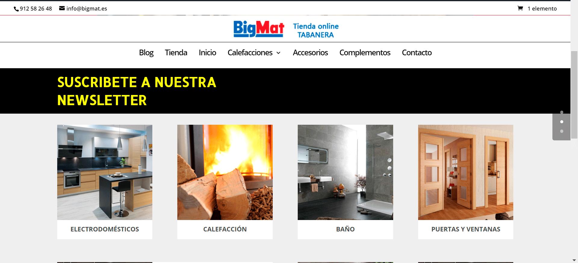 Diseño BigMat
