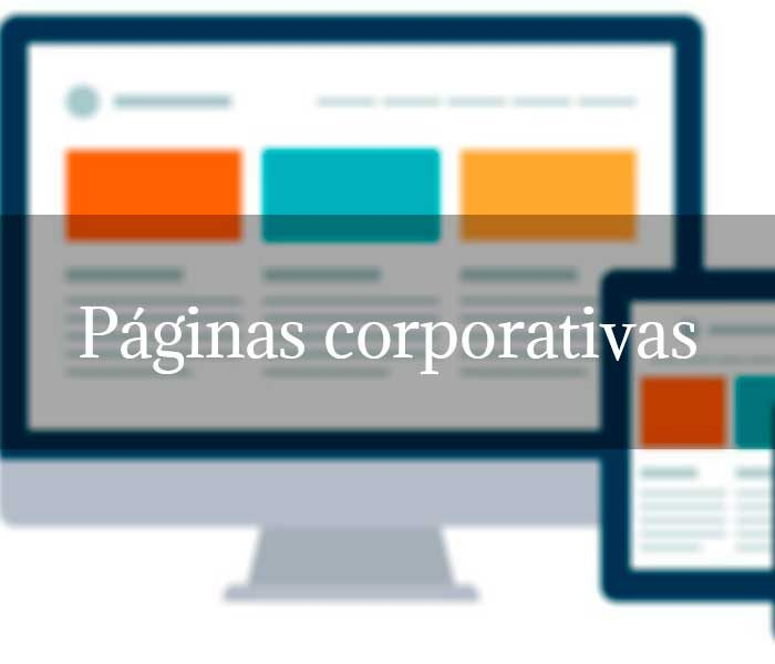 Páginas corporativas