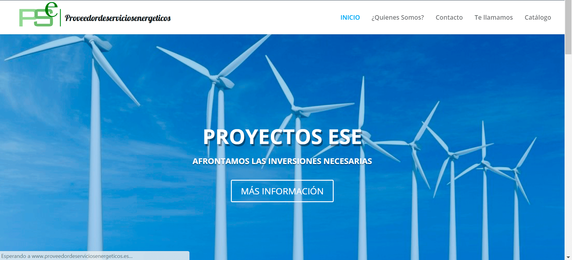 Web proveedores de servicios energéticos