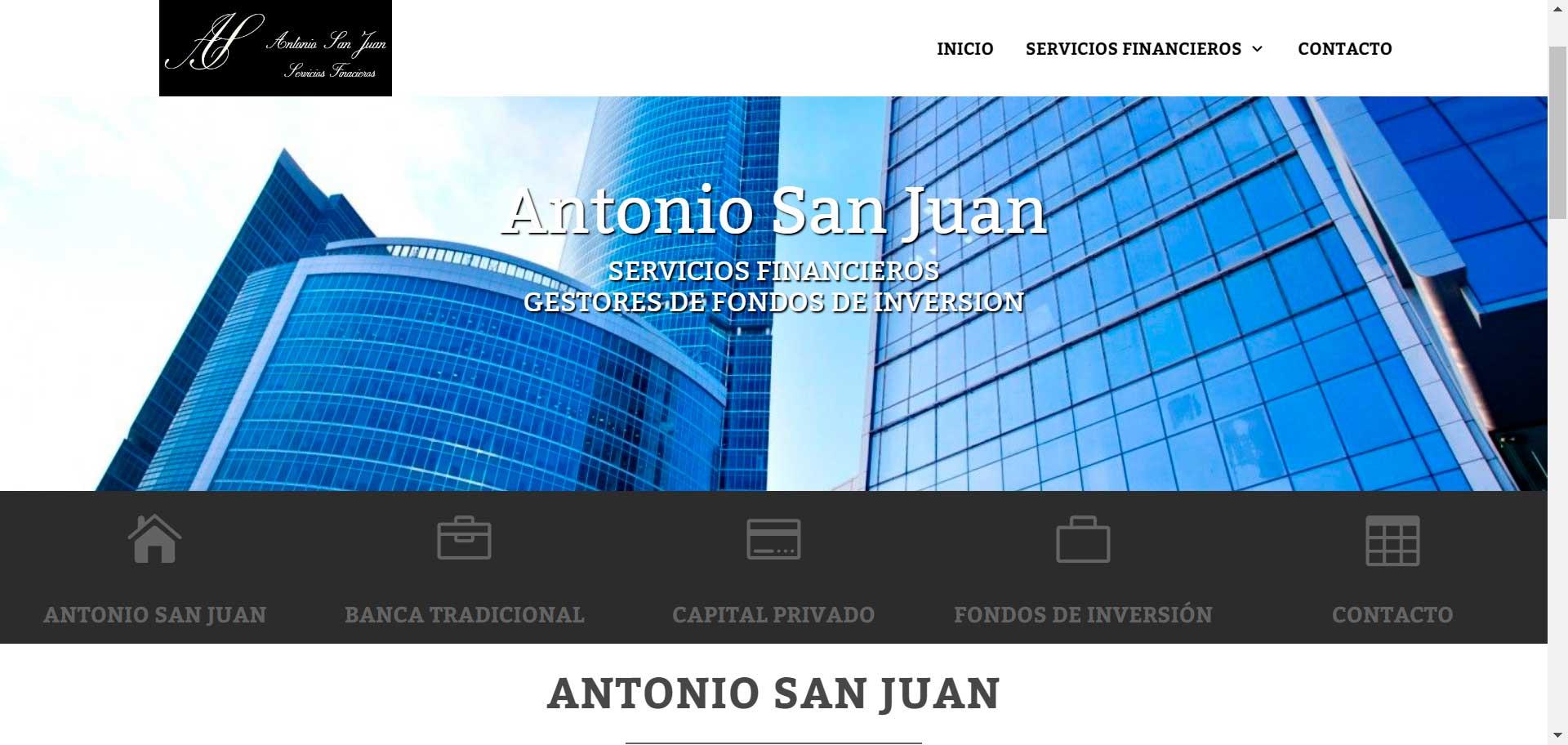 Web Antonio San Juan
