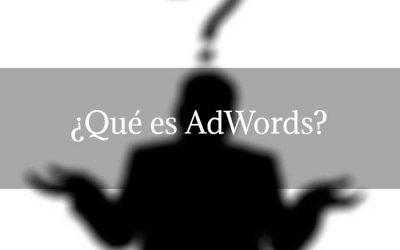 ¿Qué es AdWords?