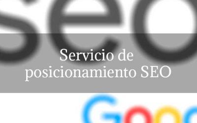 Servicio de posicionamiento SEO