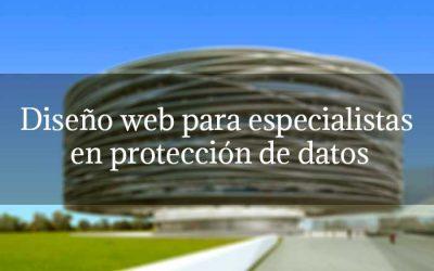 Diseño web para especialistas en protección de datos