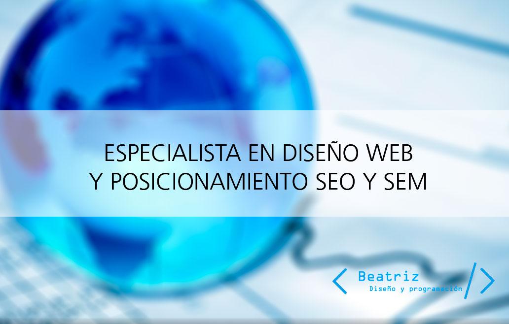 Diseño web en Toledo y posicionamiento SEO