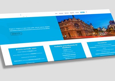 Diseño web para abogados expertos en desahucios