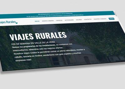 Diseño web para casas rurales