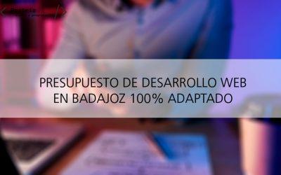 Presupuesto de desarrollo web en Badajoz
