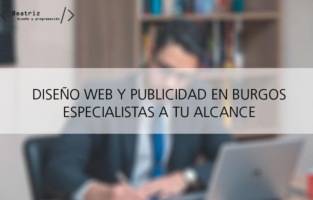 Diseño web y publicidad en Burgos