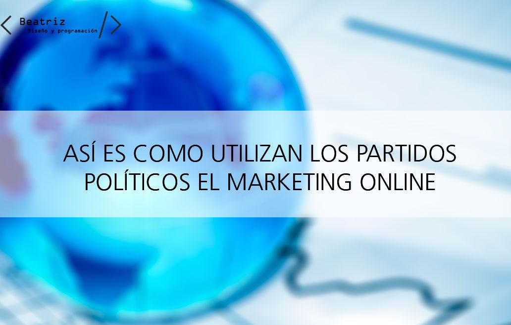 La importancia del marketing online: la política