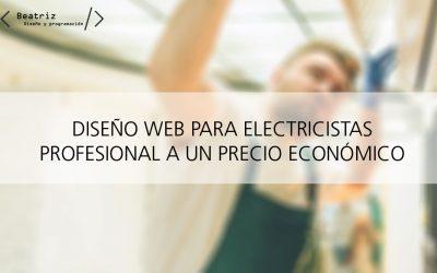 Diseño web para electricistas